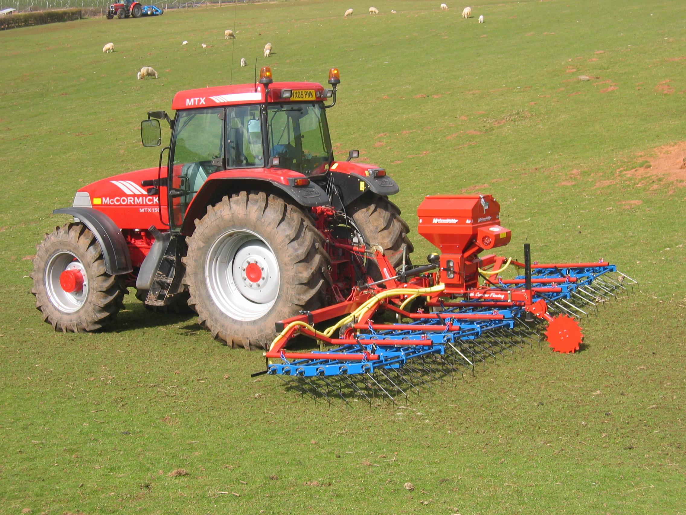 grass seeder machine